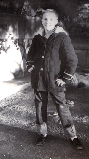 Me, circa 1962.
